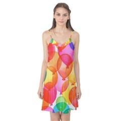 Rainbow balloon Camis Nightgown
