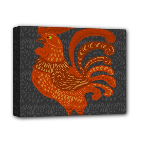 Chicken year Deluxe Canvas 14  x 11