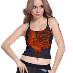 Chicken year Spaghetti Strap Bra Top