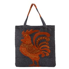 Chicken year Grocery Tote Bag