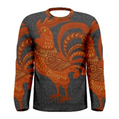 Chicken year Men s Long Sleeve Tee