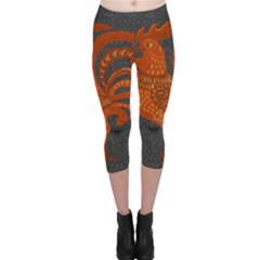 Chicken year Capri Leggings