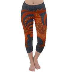 Chicken year Capri Winter Leggings