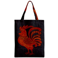 Chicken year Zipper Classic Tote Bag