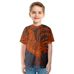 Chicken year Kids  Sport Mesh Tee