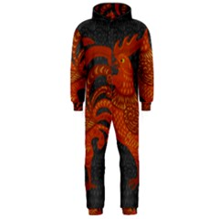 Chicken year Hooded Jumpsuit (Men)