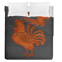 Chicken year Duvet Cover Double Side (Queen Size)