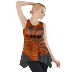 Chicken year Side Drop Tank Tunic
