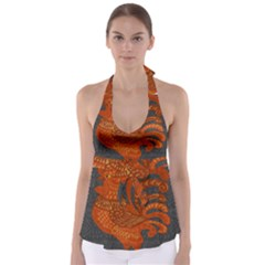 Chicken year Babydoll Tankini Top