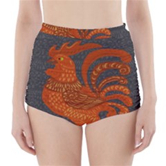 Chicken year High-Waisted Bikini Bottoms