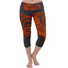 Chicken year Capri Yoga Leggings