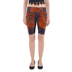 Chicken year Yoga Cropped Leggings