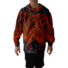 Chicken year Hooded Wind Breaker (Kids)