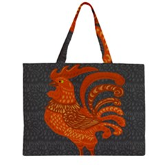 Chicken year Large Tote Bag