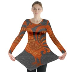 Chicken year Long Sleeve Tunic