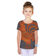 Chicken year Kids  One Piece Tee
