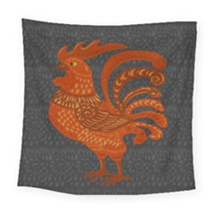 Chicken year Square Tapestry (Large)