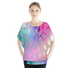 Colorful leaves Blouse