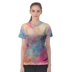 Colorful light Women s Sport Mesh Tee