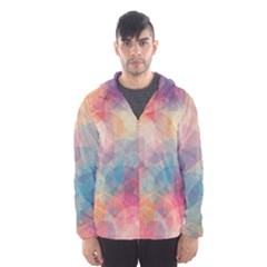 Colorful light Hooded Wind Breaker (Men)