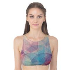 Colorful light Tank Bikini Top
