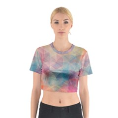 Colorful light Cotton Crop Top