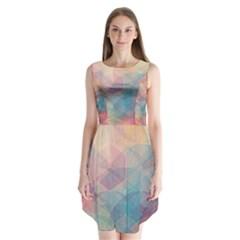 Colorful light Sleeveless Chiffon Dress