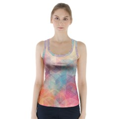 Colorful light Racer Back Sports Top