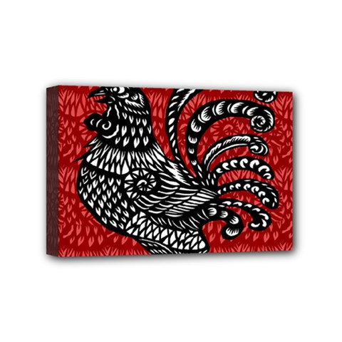 Year of the Rooster Mini Canvas 6  x 4