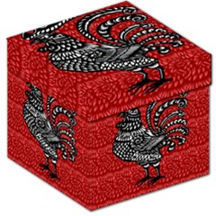 Year of the Rooster Storage Stool 12