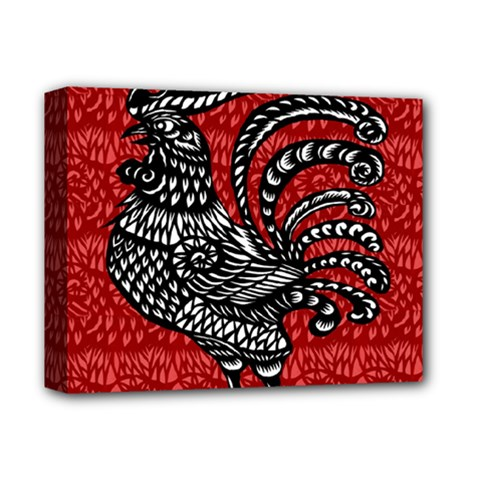 Year of the Rooster Deluxe Canvas 14  x 11