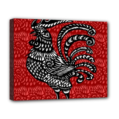 Year of the Rooster Deluxe Canvas 20  x 16
