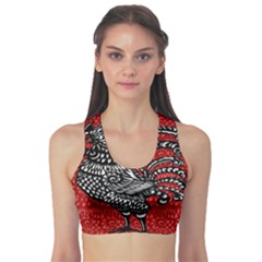 Year of the Rooster Sports Bra
