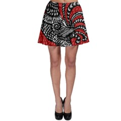 Year of the Rooster Skater Skirt