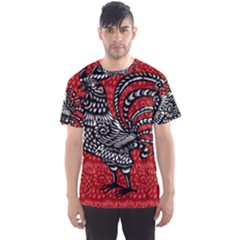 Year of the Rooster Men s Sport Mesh Tee