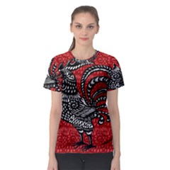 Year of the Rooster Women s Sport Mesh Tee