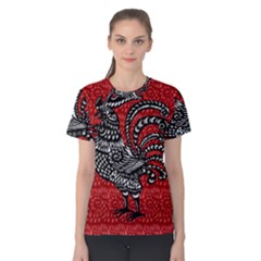 Year of the Rooster Women s Cotton Tee