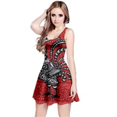 Year of the Rooster Reversible Sleeveless Dress