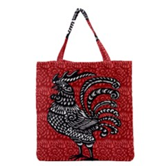 Year of the Rooster Grocery Tote Bag