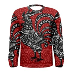 Year of the Rooster Men s Long Sleeve Tee