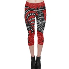 Year of the Rooster Capri Leggings