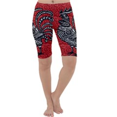 Year of the Rooster Cropped Leggings