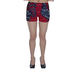 Year of the Rooster Skinny Shorts