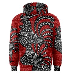 Year of the Rooster Men s Pullover Hoodie