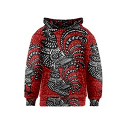 Year of the Rooster Kids  Pullover Hoodie