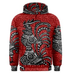 Year of the Rooster Men s Zipper Hoodie