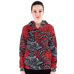 Year of the Rooster Women s Zipper Hoodie