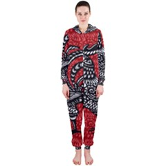 Year of the Rooster Hooded Jumpsuit (Ladies)