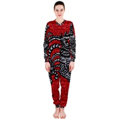 Year of the Rooster OnePiece Jumpsuit (Ladies)