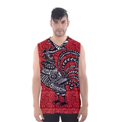 Year of the Rooster Men s Basketball Tank Top